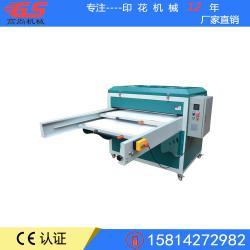 福建广州厂家定制生产气动全自动双工位压烫机80100鼠标垫布料印花机械