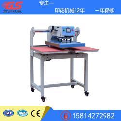 出口型气动上滑双工位烫画机成衣可套布料压烫设备厂家批发供应4060