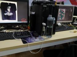 广州数码印花设计师培训人员培养印花厂家
