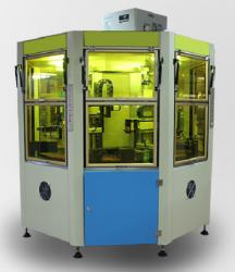 文具直尺转盘丝印机带uv烘干丝网印刷机厂家定制