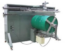 铁桶滚印机塑料桶丝印机矿泉水桶丝网印刷机厂家