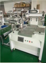 保定市丝印机厂家衣服布料丝网印刷机LOGO移印机