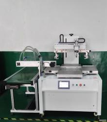 南京市丝印机厂家PVC胶片丝网印刷机塑料件外壳移印机