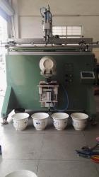 苏州市丝印机厂家塑料桶滚印机垃圾桶移印机