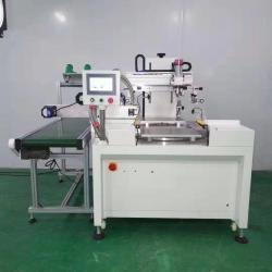 PVC胶片丝印机玻璃镜片网印机亚克力板丝网印刷机