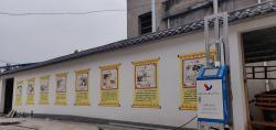 双喷头墙体喷绘机,品牌厂家直销,华科恒润,专业的墙体喷绘设备供应商