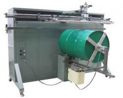 胶水桶滚印机不锈钢铁桶丝印机涂料桶丝网印刷机