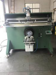 不锈钢铁桶滚印机垃圾桶网印机垃圾箱丝印机喷雾器桶丝网印刷机