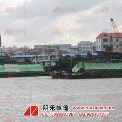工地船用帆布定做-码头盖货用帆布-船用篷布防水篷布