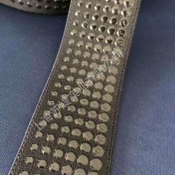 硅胶丝印织带立体印硅胶织带硅胶印花印刷松紧带织带