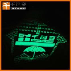 千色变品牌供应夜光浆料夜光衣服印花浆专用材料长效蓄光自发光浆