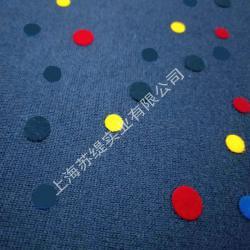布料小面积静电植绒印花面料静电植绒裁片图形静电植绒印花