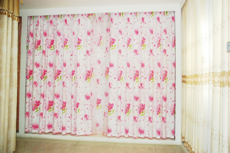 2015年窗帘布宽门幅1.8米数码印花定制加工