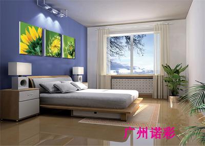 广州铝塑板装饰画印花加工/装饰画彩印加工