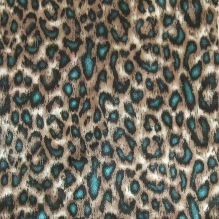 豹紋里料印花 個性印花 熱轉移印花