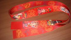 印花螺纹带,服装辅料热转印缎带,热转印拉链
