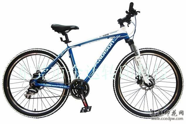 自行车水贴纸加工