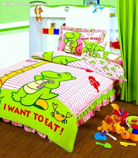 床單被罩枕頭套熱升華轉移印花