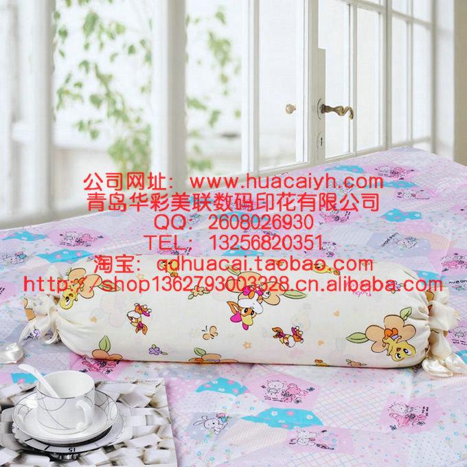 青岛家纺印花厂床单印花 床单热转印热升华转移数码印花加工价格