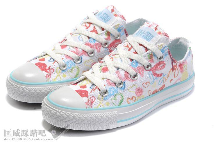 韩版印花布鞋女单鞋