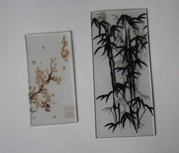 提供印花加工 白玻璃印花加工