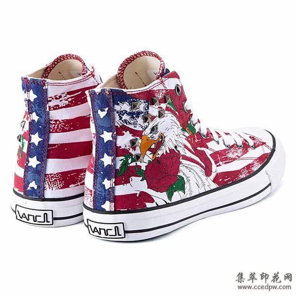 女士帆布鞋 韩版印花布鞋女单鞋