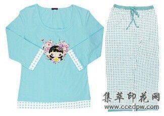 睡衣印花加工,广州纺织品印花厂家,图案印花加工价格
