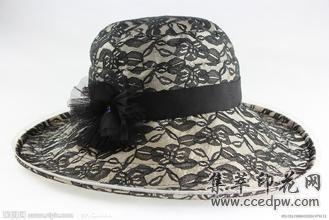 帆布帽印花,热转印印花。