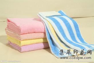 毛巾条纹印花  图案印花  数码印花