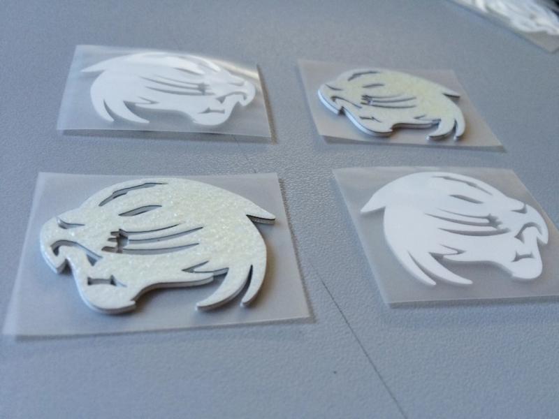 加工热转印商标硅胶