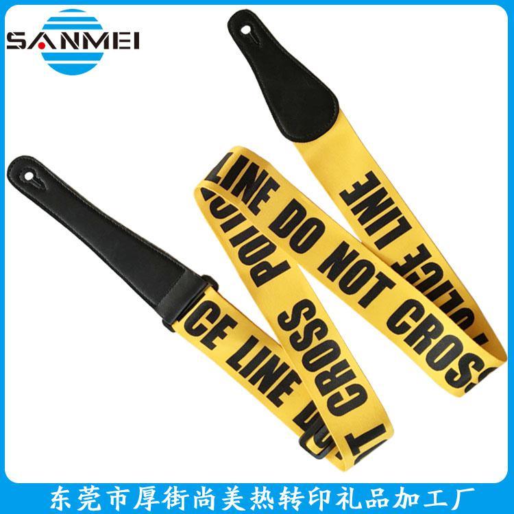 厂家直销吉他背带、印花背带,热转印背带,彩绘背带