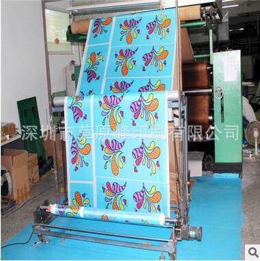 活性印花真丝 棉人棉印花加工印花生产