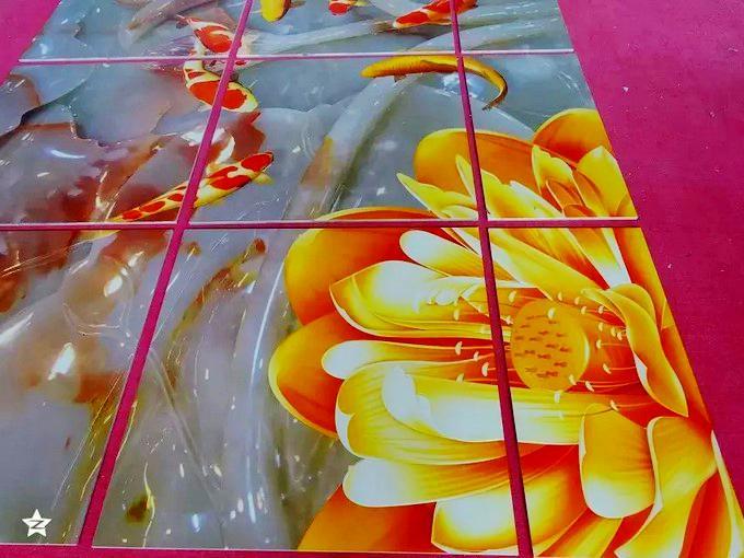 天花板印刷uv彩印加工陶瓷彩绘来图加工