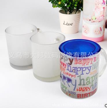 热转印杯子批发白杯马克杯涂层杯影像杯diy印像杯变色杯批发白