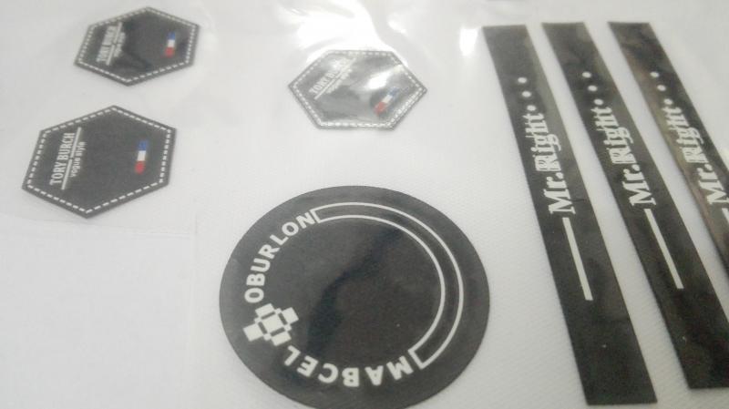 硅胶热转印膜,硅胶商标,
