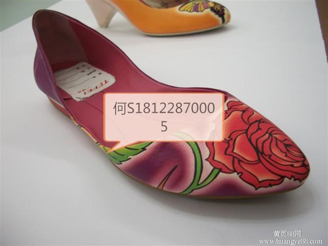 供应东莞真皮,PU数码印花加工厂。鞋面表面数码打印厂