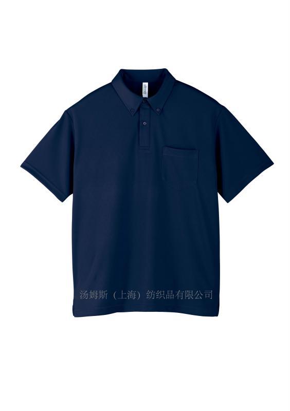 健身运动衬衫领POLO衫