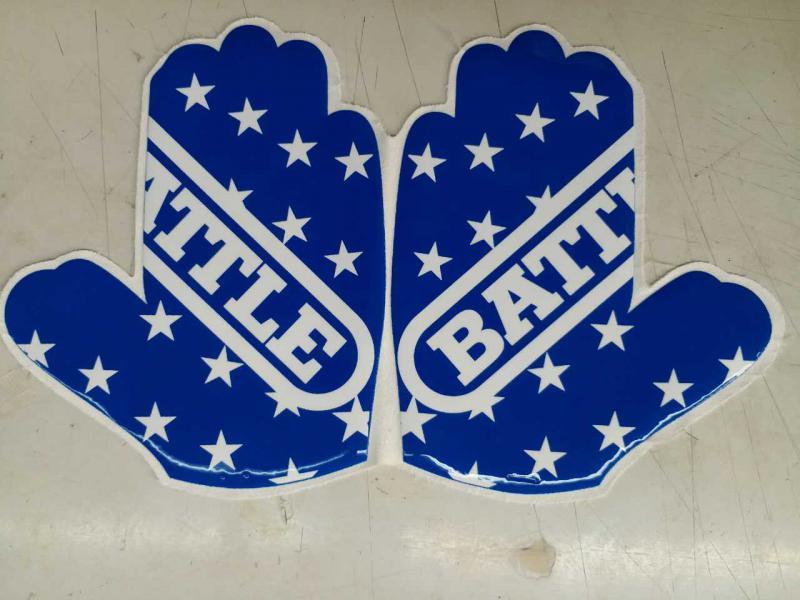 各类手套防滑硅胶印花