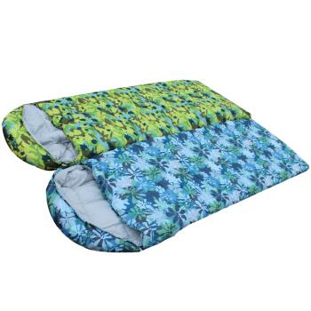 迷彩睡袋印花 个性睡袋 睡袋印花 数码印花