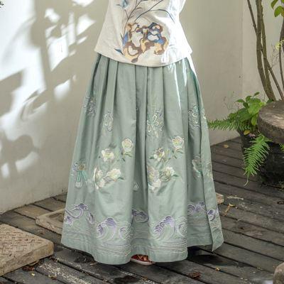 四川成都承接數碼印花加工 漢服 圍裙 cos服 蒙古包印花