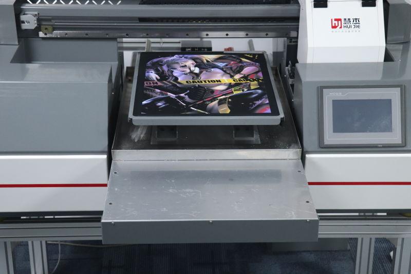 广州纯棉直喷印花|白墨直喷T恤印花加工-广州慧杰机械