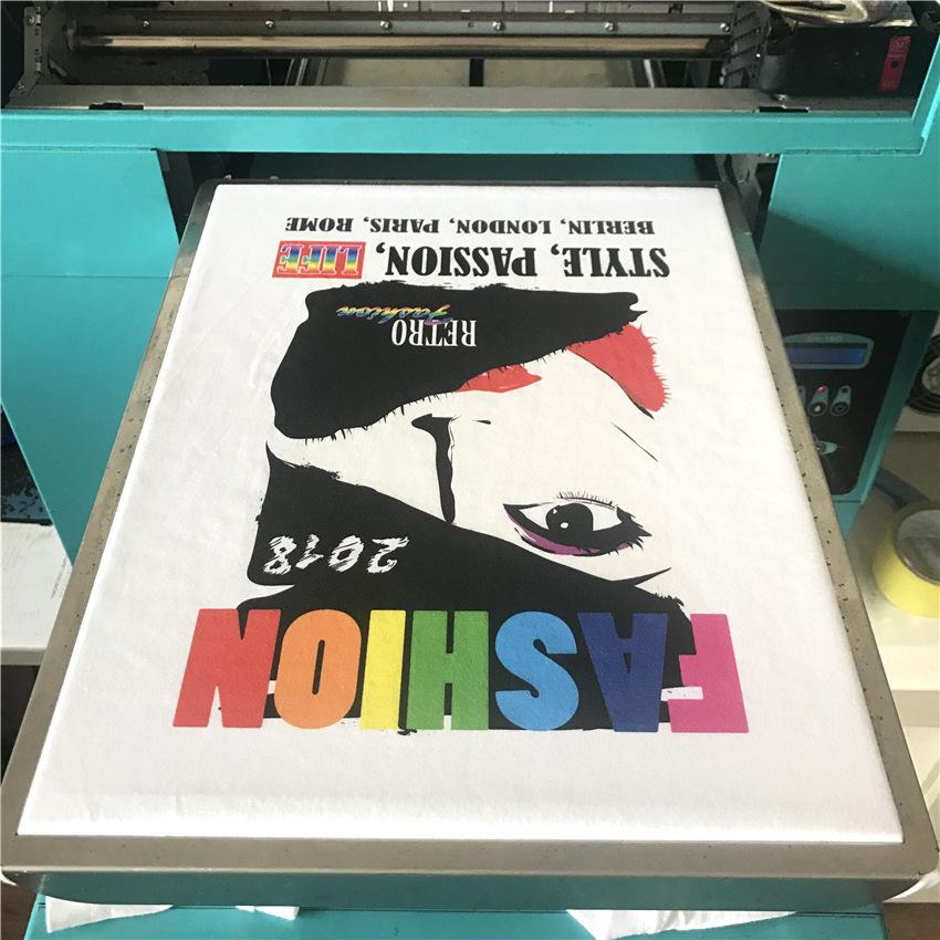 河南服裝印花機T恤打印機數碼印花機文化衫廣告衫印花打印機