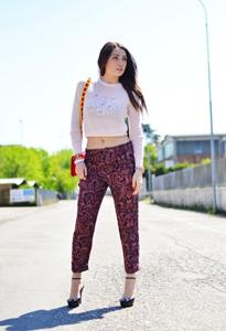 印花裤 属于你的时尚
