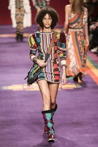 米蘭時裝周  Etro民族風印花有多美