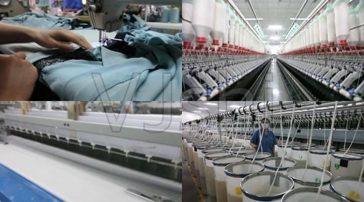 中國輕紡城市場復業后17320家商戶開門營業