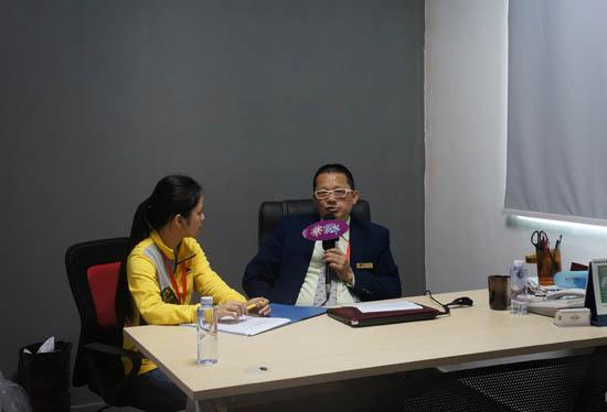 锐意创新 传统+数码=倚天912椭圆数码印花机——访深圳市全印图文技术有限公司总经理候威光