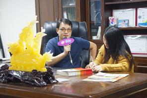 播种·耕耘·丰收——访东莞市枣田印花材料科技有限公司总经理刘中